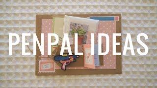 Penpal Flat Package Ideas - My Creative Process
