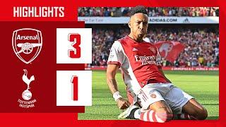 HIGHLIGHTS | Arsenal vs Tottenham Hotspur (3-1) | Smith Rowe, Aubameyang, Saka