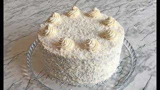 """Торт """"Рафаэлло"""" / Raffaello Cake / Кокосовый Торт / Торт на 8 Марта / Праздничный Торт"""