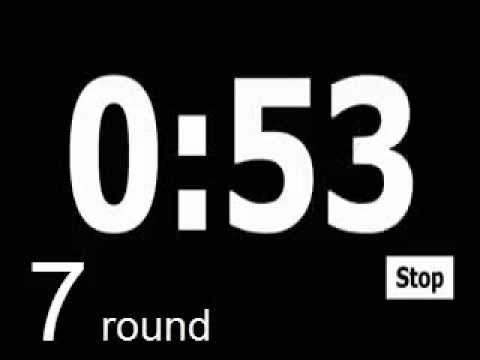 boxing workout timer 12 rounds