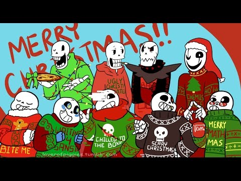 Christmas Party AU Movie Undertale Comic Dub