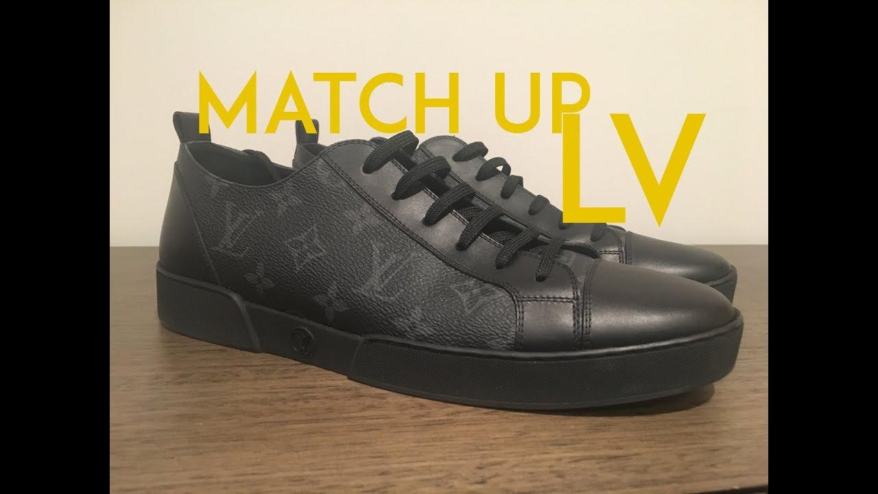 Louis Vuitton Match Up Sneaker - YouTube