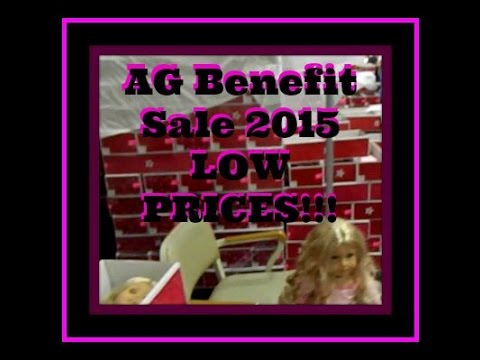 American Girl Benefit Sale 2015 LOTS OF DOLLS AT LOW PRICES!!!!