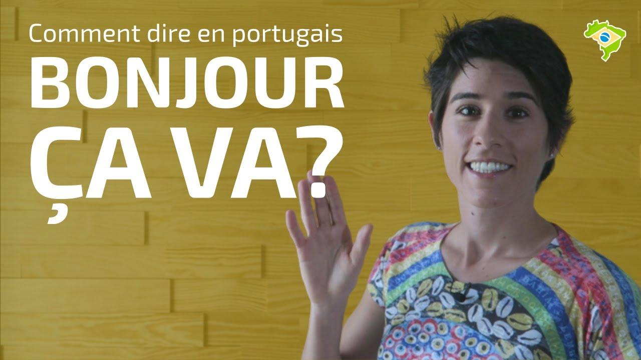 Saluer Et Demander Comment ça Va En Portugais Le Brésilien Avec Gabi Youtube
