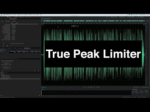 Adobe Audition True Peak Limiter: Loud, Controlled Dialogue!