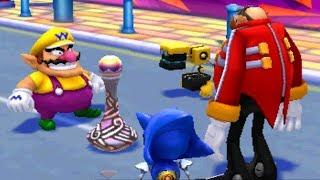 Mario & Sonic at the London 2012 Olympic Games (3DS) - 100% Walkthrough Part 12: Tricksters Bonus