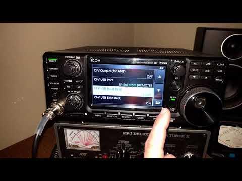 Icom 7300 FT-8 Settings (WSJT-X and Radio)