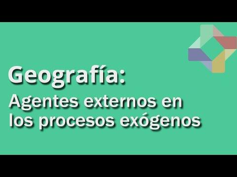 Formas de Relieve: Procesos exógenos - Parte II - Geografía - Educatina