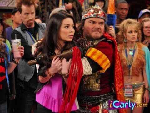 iStart a Fan War iCarly Episode (with Jack Black!) - YouTube