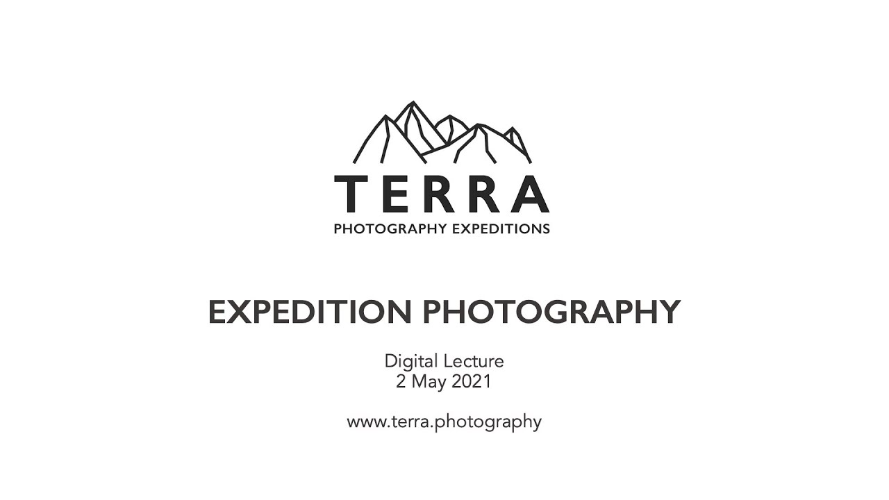 Recording of a Live Digital Lecture on Expedition Photography