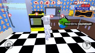 Playing roblox meep city (cooking update)
