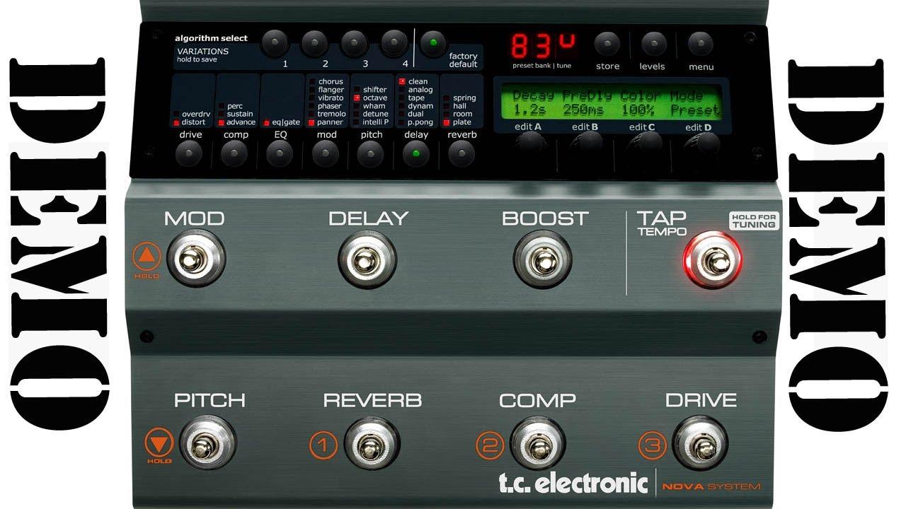 Tc Electronic Nova System Demo Modulations Effects