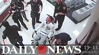 Ohio man yells 'I can't breathe' after being pepper-sprayed by police while in restraining chair