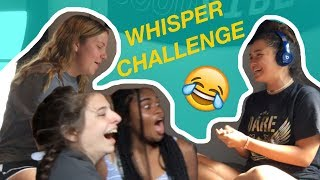 The Whisper Challenge **HILARIOUS**