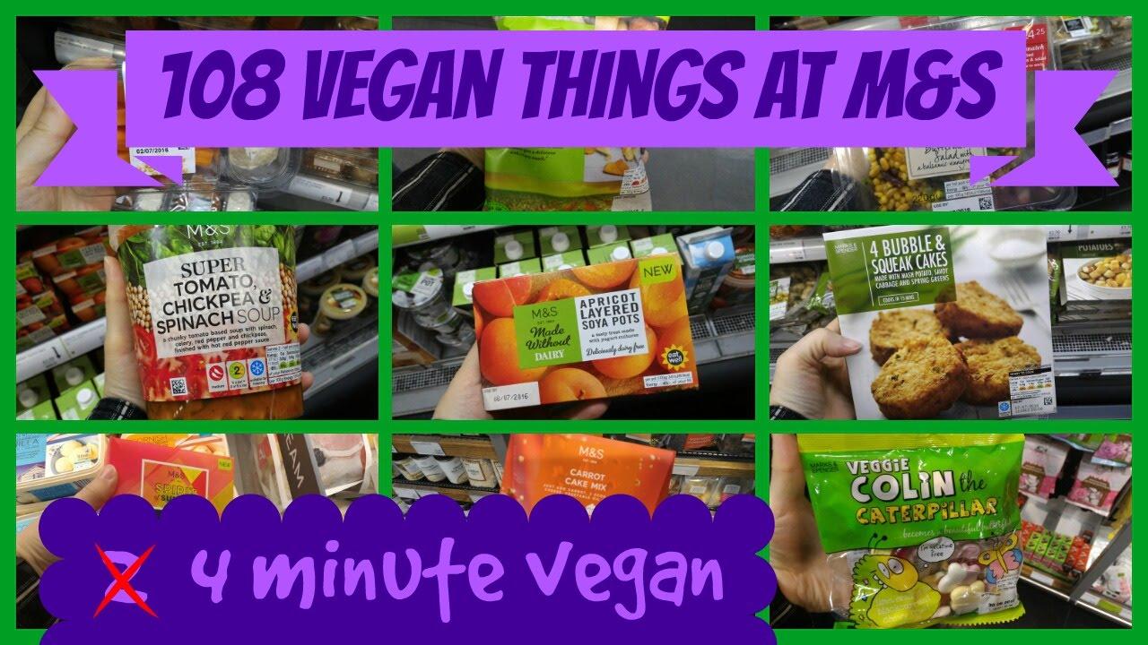 108 Vegan Things From Marks Spencer 2 Minute Vegan Vegan For Beginners