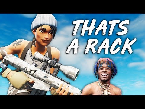 "Fortnite Montage - ""THAT'S A RACK"" (Lil Uzi Vert)"
