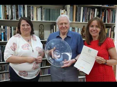 BIAZA   David Attenborough   Thank You Message