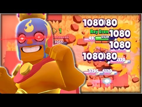 EL PRIMO Rushing The Middle Challenge! - He's BROKEN! - Feast Or Famine Gameplay! - Brawl Stars