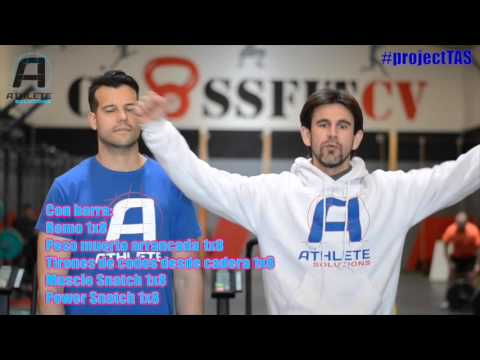 The athlete solutions open Crossfit 16 3