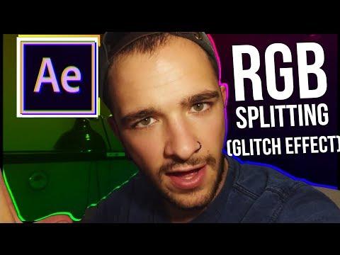 AFTER EFFECTS TUTORIAL: RGB Splitting (Glitch)