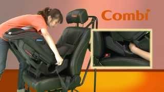 Автокресло Combi Malgott Prim Long (видео установка в машину)
