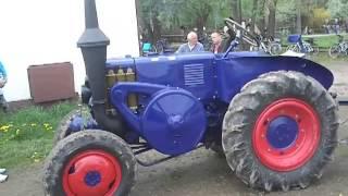 Lanz Bulldog - Traktor 1 Zylinder Hubraum 10 Liter -