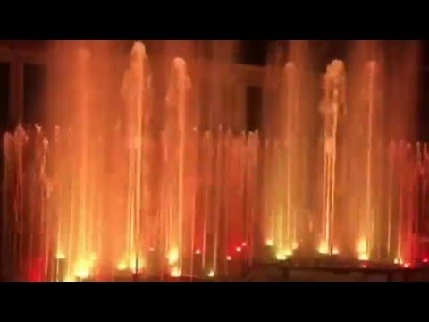 PLC controlled music water dancing fountain