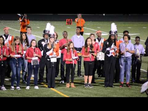 Oakland Mills High School Marching Band Sept. 25, 2015