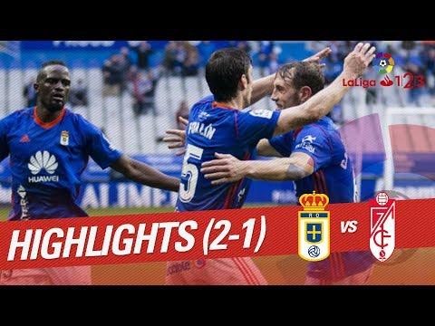 Resumen de Real Oviedo vs Granada CF (2-1)