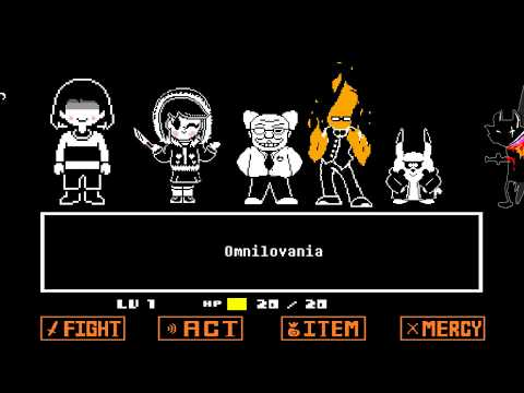 Omnilovania By Overdetermined Sounds ANIMATED (Undertale Sans AU)