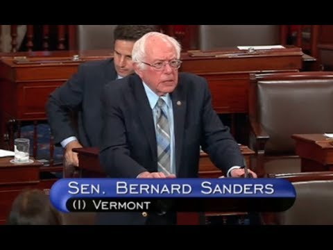 Sen. Bernie Sanders Blasts Secret GOP Health Care Bill - Full Speech On Senate Floor