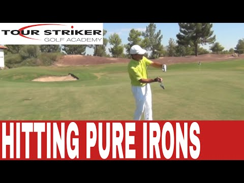 Two Keys to Striking Pure Iron Shots | Martin Chuck | Tour Striker Golf