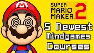 Super Mario Maker 2 Top 5 Newest MINDGAMES Courses (Switch)