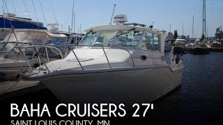 [UNAVAILABLE] Used 2001 Baha Cruisers 272 Fisherman in Duluth, Minnesota