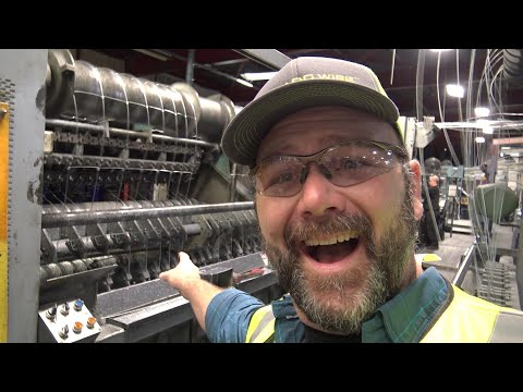 FUN AND EDUCATIONAL!! HOW FENCING WIRE IS MADE!! YOU'LL ENJOY THIS VLOG!