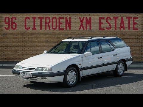 1996 Citroen XM VXS Tdi Estate Goes For A Drive