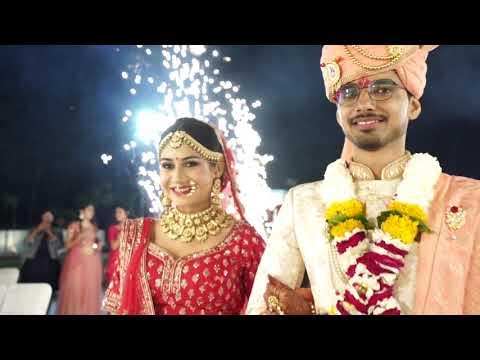 Anuj Bhumika Wedding | Couple Entry