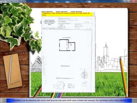 Misurare area planimetria pac planimetry area calculator for Software per planimetrie