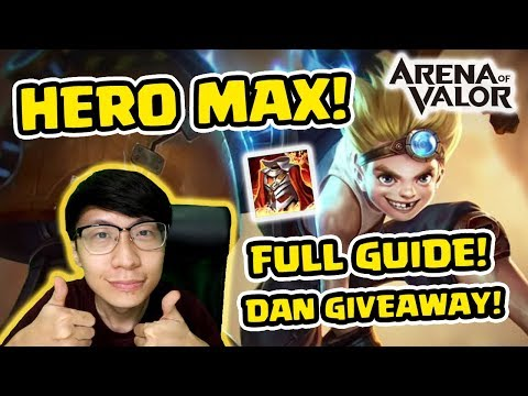 Full Guide Hero Max Skill dan Gameplay! PLUS GIVEAWAY Voucher! - Arena of Valor