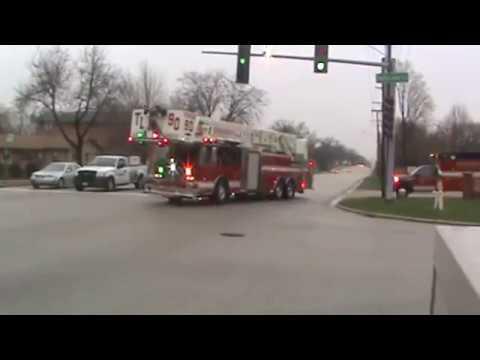 Bensenville,IL. Fire Co.'s Responding
