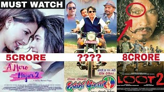 Top 5 Highest Grossing Nepali Movies Of All Times | ft. KRI,'छक्का पन्जा २'