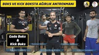 Daha güçlü olmak için 8 bodybuilding hareketi / Boks, kick boks ağırlık antrenmanı