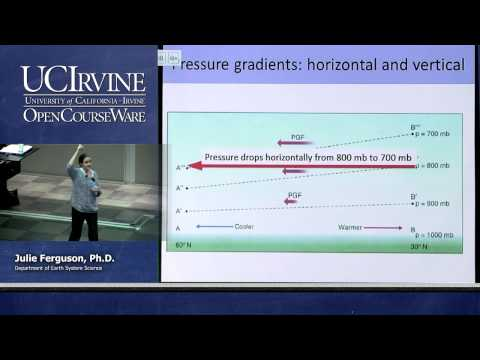 ESS 5. Lec 06. The Atmosphere: Pressure and Winds
