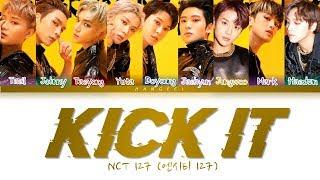 NCT 127 (엔시티 127) - KICK IT '영웅 (英雄)' (Color Coded Lyrics Eng/Rom/Han/가사)