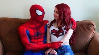 Mary Jane And Spiderman In Real Life (parkour, Marvel)