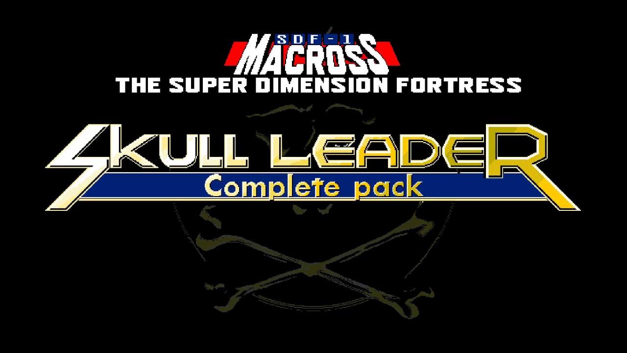Super Dimension Fortress Macross: Skull Leader complete pack en anglais sur  PC-98