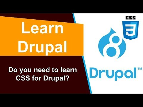 Do you need to learn CSS for Drupal? thumbnail