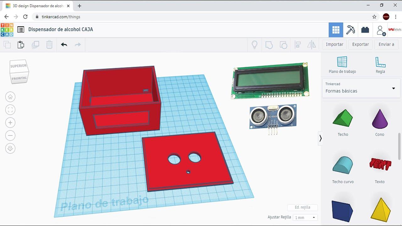 El Programa mas Fácil para hacer DISEÑO 3D/Ideatronic