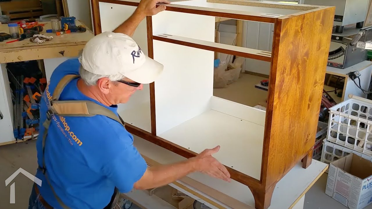 How To Build A Furniture Style Vanity