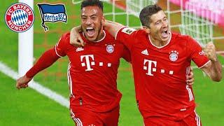 4 Lewandowski Goals in incredible match! Highlights FC Bayern vs. Hertha BSC